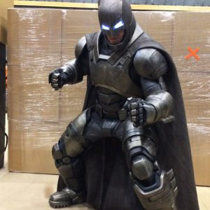 3D Printed Armored Batman Suit