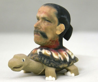 3D Printed Decapitated Tortuga