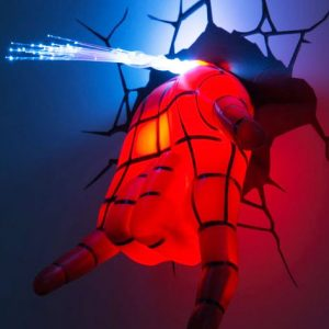 3D Spider-Man Hand Night Light
