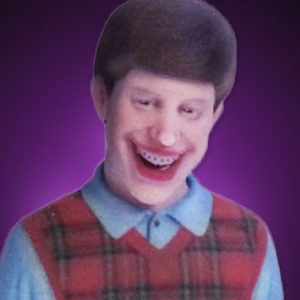 Bad Luck Brian 3D Printed Figurine