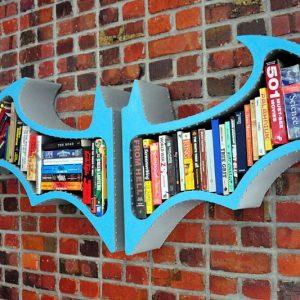 Batman Arkham Asylum Bookshelf