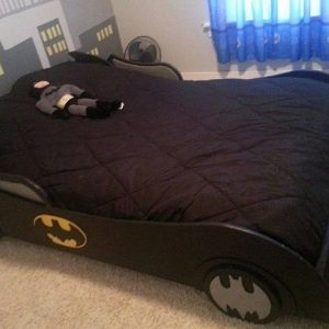 Batman Themed Bed