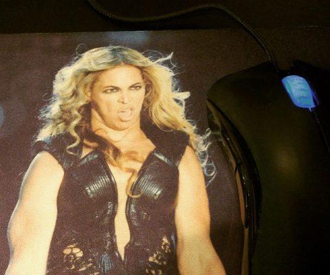 Beyonce Mousepad