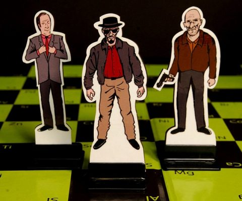 Breaking Bad Chess Set