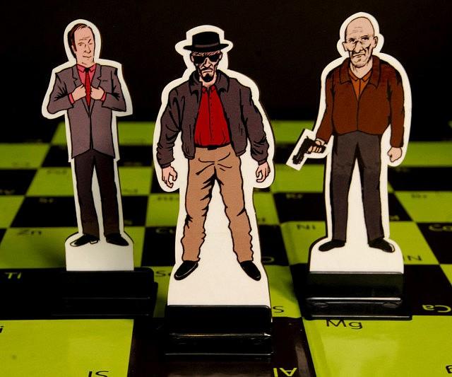 Breaking Bad Chess Set