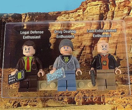 Breaking Bad LEGO Figurines