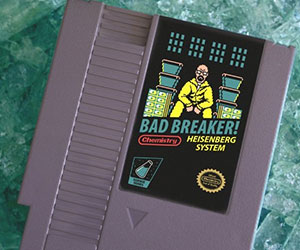 Breaking Bad NES Cartridge