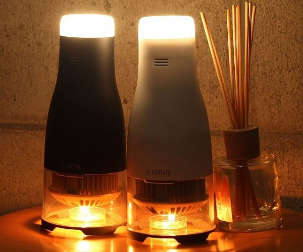 Candle Powered LED Lamp