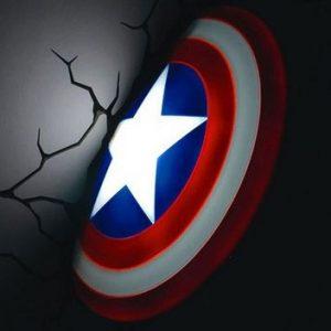 Captain America Shield Nightlight