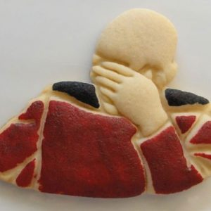 Captain Picard Facepalm Cookies