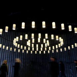Circular Suspension Light