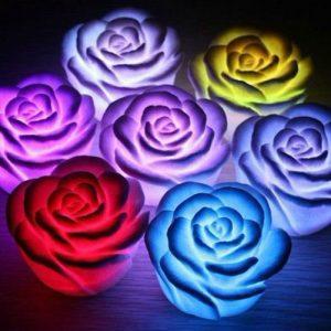 Color Changing Flower Lights
