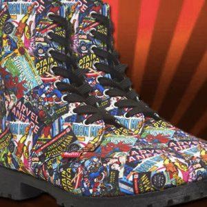 Comic Book Boots