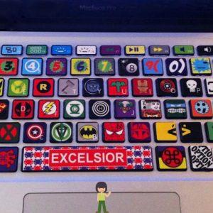 Comic Book MacBook Keyboard Cover