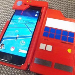 DIY 3D Printed Pokedex iPhone Case