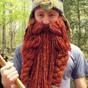 DIY Gimli Beared Beanie