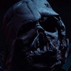 Darth Vader Melted Helmet Replica