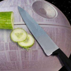 Death Star Cutting Board