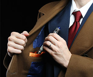 Doctor Who's Doctor Coat