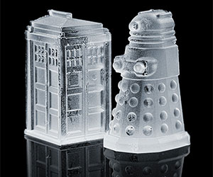 Doctor Who Ice Cube Molds