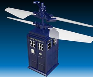 Doctor Who R/C Flying TARDIS