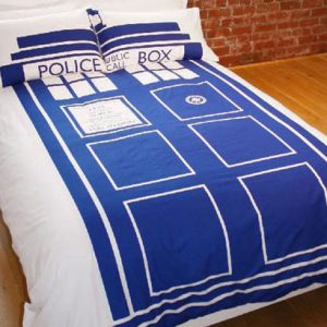 Doctor Who TARDIS Duvet