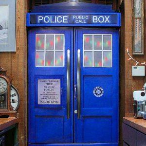 Doctor Who TARDIS Fridge Skin