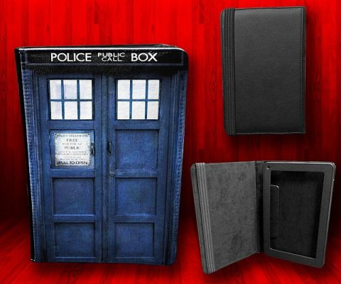 Doctor Who TARDIS Kindle Cover
