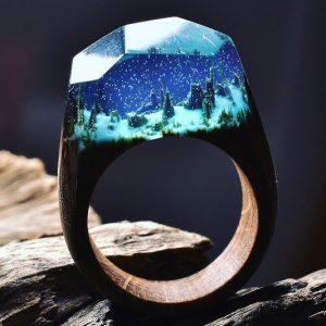 Enchanted Landscape Rings