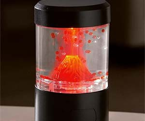 Erupting Volcano Lamp