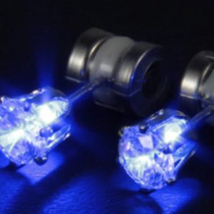 Flashing LED Earrings