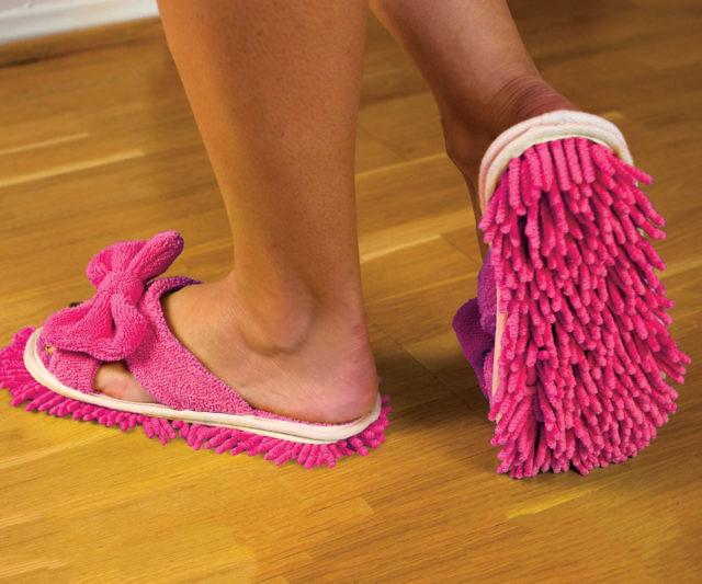 Floor Cleaning Slippers Interwebs