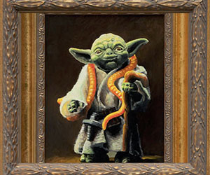 Framed Star Wars Paintings