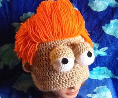 Futurama Fry Knitted Beanie