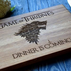 Game Of Thrones Cutting Board