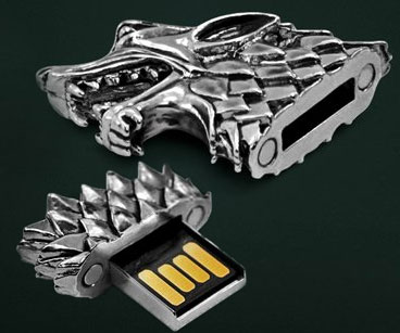 Game Of Thrones Direwolf USB Drive