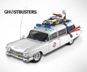 ghostbusters model car interwebs. Black Bedroom Furniture Sets. Home Design Ideas