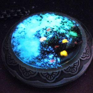 Glow In The Dark Galaxy Necklace