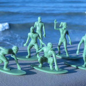 Green Army Men Surfboarders