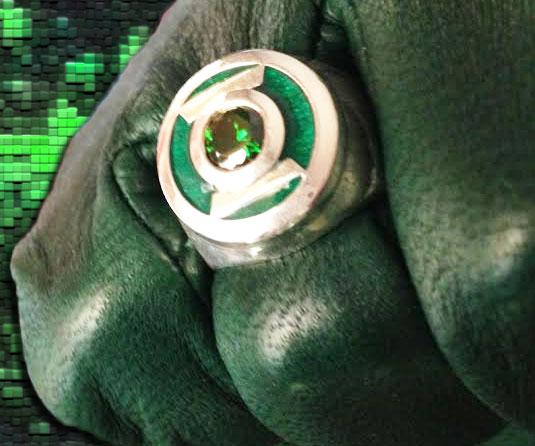 Green Lantern Replica Ring Interwebs