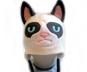 grumpy cat hat interwebs. Black Bedroom Furniture Sets. Home Design Ideas