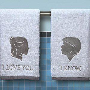 Han And Leia Hand Towels