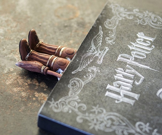 Harry Potter Boots Bookmark