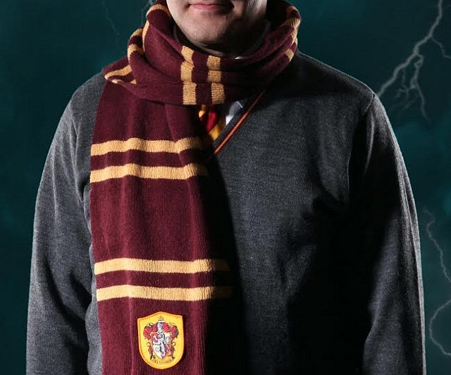 Harry Potter House Scarves Interwebs