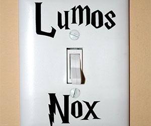 Harry Potter Light Switch Sticker