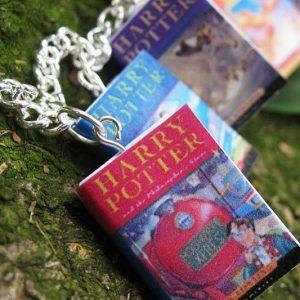 Harry Potter Miniature Book Bracelet