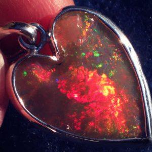 Heart On Fire Opal