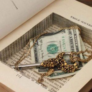 Hidden Book Safe