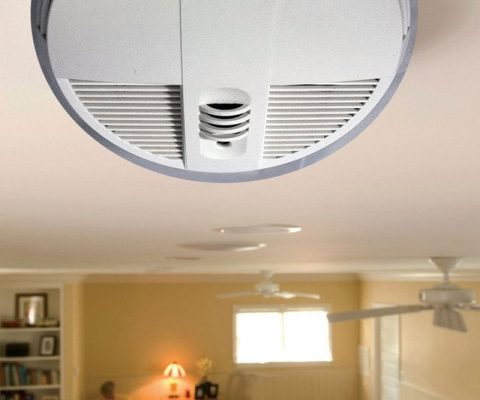 Hidden Camera Smoke Detector