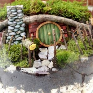 Hobbit House Terrarium Set